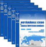 Cumpara ieftin Hotararile CEDO in cauzele impotriva Romaniei - 1994-2009 - Analiza, consecinte, autoritati potential responsabile (5 volume)