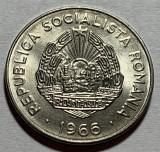 25 Bani 1966 Romania, a UNC, Luciu
