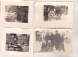 Bnk foto - Copii cu sanii - 1941, Alb-Negru, Portrete, Romania 1900 - 1950