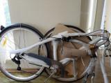 Bicicleta Pegas Popular Aluminiu Alb