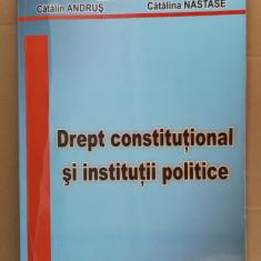 Drept Constitutional si Institutii Politice - Badescu ,Andrus, Nastase