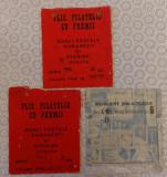3 plicuri filatelice goale