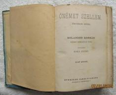 Carte veche maghiara.Bolanden Konrád-Ónémet szellem I-III. TÖRTÉNELMI REGÉNY foto