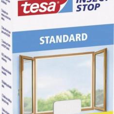 Plasa de tantari Standard pentru fereastra, Tesa, 530508, 1.5 x 1.8 m alb