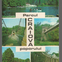 CPI B14345 CARTE POSTALA - CRAIOVA. PARCUL POPORULUI, MOZAIC