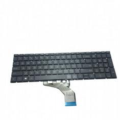 Tastatura Laptop HP Pavilion 15-DA iluminata negru