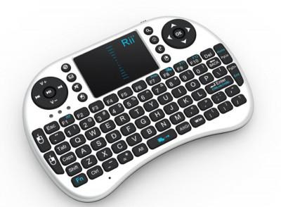 Mini tastatura bluetooth Rii i8 cu touchpad compatibila Smart TV si Playstation foto