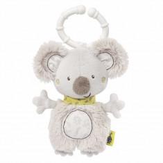 Jucarie zornaitoare mini Fehn Koala, 14 cm, velur moale