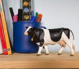 Figurină Vacă rasa Holstein, Safari