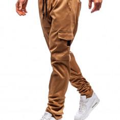 Pantaloni cargo pentru bărbat camel Bolf 0857