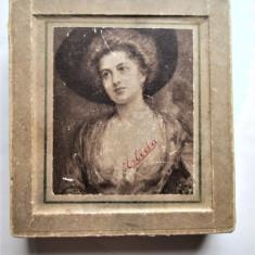 Cutie veche pentru ceas de buzunar, Marca Elida. Perioada interbelica