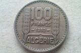 MONEDA 100 FRANCI 1952-ALGERIA, Africa