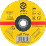 Disc abraziv pentru debitat metale 180x2.5x22 mm VOREL
