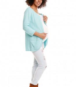 Cardigan pentru gravide model 84483 PeeKaBoo