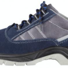 Pantofi Protectie Talpa Injectata PU Piele Intoarsa ETP / M: 46
