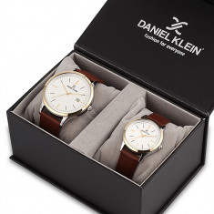 Set ceasuri pentru dama si barbati, Daniel Klein Pair, DK11787-6P