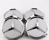 Capace jante Mercedes gri carbon