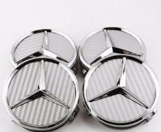 Capace jante Mercedes gri carbon foto