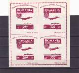 OSP BLOC DE 4, Lp. nr. 201a,1946 MNH ** ROMANIA., Istorie, Nestampilat