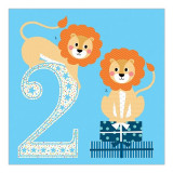 Felicitare - 2 Lions | Soul UK