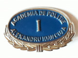 INSIGNA ACADEMIA DE POLITIE A.I.CUZA - STUDEMT ANUL I