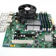 FACTURA! Kit Placa de baza Intel DQ45CB + Intel Core 2 Quad Q9550 + 8GB + Cooler, Pentru INTEL, LGA775, DDR2