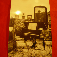 Ilustrata Dorohoi - Interior Casa George Enescu