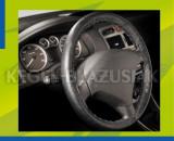Husa volan cu snur din piele 36-38 cm Kft Auto