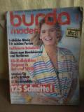 Revista Burda Moden nr. 7 juli 1985. (lb. germana)