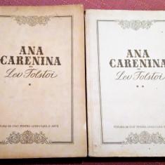 Ana Carenina 2 Volume. E.S.P.L.A. 1953 - Lev Tolstoi