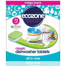 Tablete pentru masina de spalat vase, Clasic, 72 buc, Ecozone