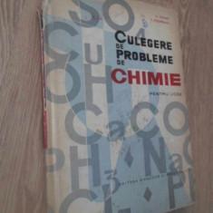 CULEGERE DE PROBLEME DE CHIMIE PENTRU LICEE - D. TANASE, P. PODAREANU