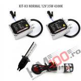 Set xenon H3 NORMAL 12V 35W 4300K