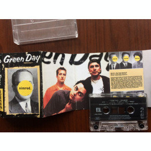 green day nimrod 1997 caseta audio muzica punk pop rock reprise records germany