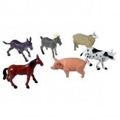 Jucarie Set animale domestice 6 bucati medii