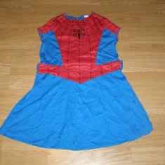 Costum carnaval serbare spiderman spidergirl pentru copii de 8-9-10 ani, 8-9 ani, Din imagine
