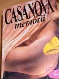 MEMORII GIACOMO CASANOVA