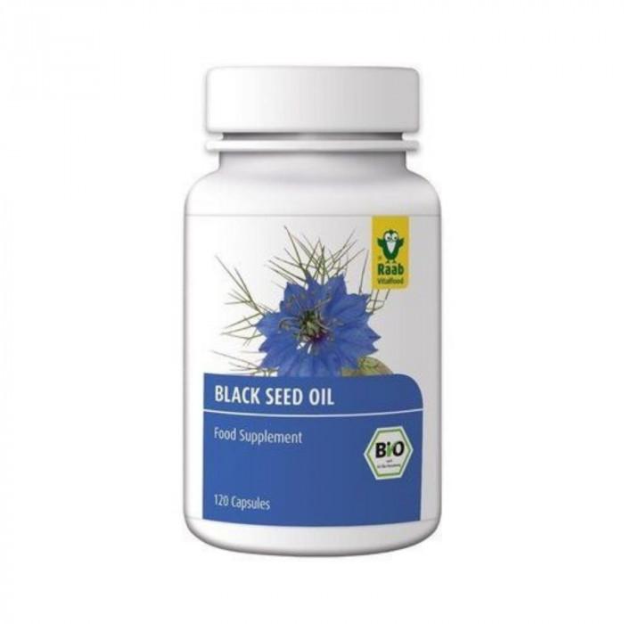 Ulei de chimen negru - negrilica - bio 120 capsule RAAB
