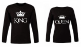 Set bluze de cuplu KING/QUEEN PB001