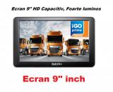 """NAVIGATII 2021. GPS 9 """"HD,16GB, Special Camion -TRUCK FULL EU Tir, Nou, GARANTIE"""