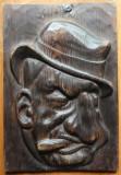 Constantin Argentoianu ; Sculptura in lemn de Ioan H. Sarghie , 1932