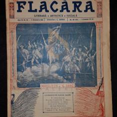 BANU C. (Director), FLACARA (Literara, Artistica si Sociala), Anul III, Numarul 52, 1914, Bucuresti
