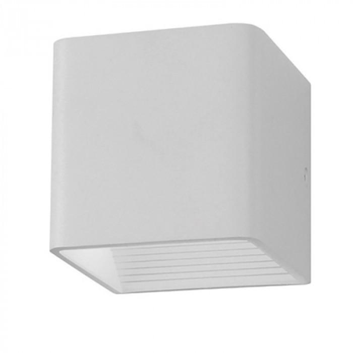 Aplica LED patrata, 5 W, temperatura culoare: alb cald