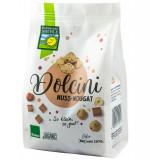 Dolcini biscuiti BIO cu nougat si alune, 125 g Bohlsener Muhle