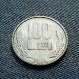 100 Lei 1992 Romania / litere si cifre groase