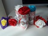 Mărțișoare și aranjamente florale de săpun
