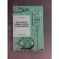 Cum se regleaza tensiunea in retelele electrice industriale - A.V. Mihalkov