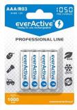 Acumulatori Everactive R3 AAA 1.2V 1000 mAh 4 Bucati / Set