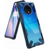 Husa OnePlus 7T Ringke Fusion X Albastru