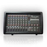 Mixer audio amplificat consola dj linie phantom usb 2x100w